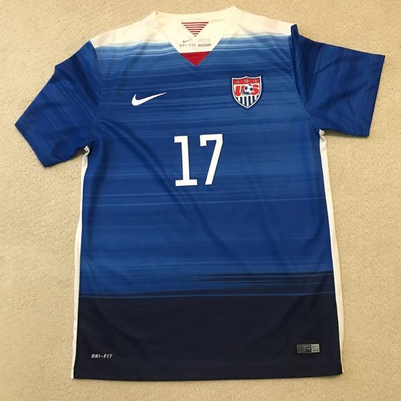 release date: 6862b d0b11 Tobin Heath US Women's National Team Soccer Jersey
